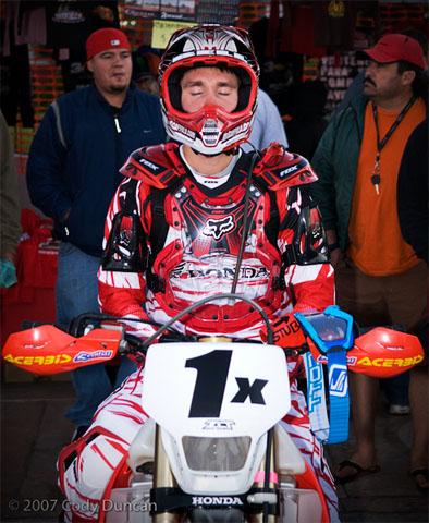 Robby Bell, 1x honda rider, 2007 Baja 1000