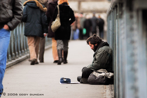 © cody duncan photography. Homeless person, Budapest, Hungary