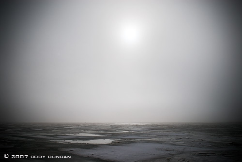 © cody duncan photography.  frozen curonian lagoon, lithuania