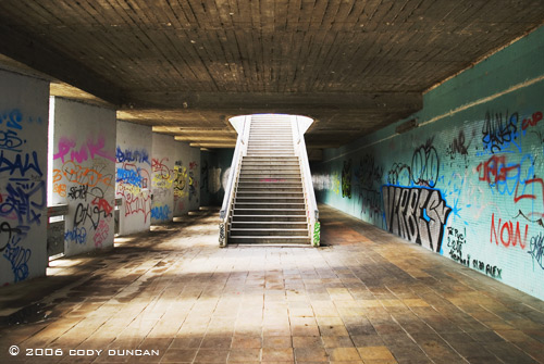 stairway in prague