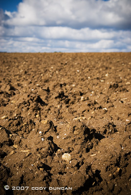 © 2007 cody duncan photography. plowed german farm field