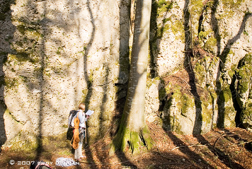 © 2007 cody duncan photography. Rock climbing in Frankenjura, Germany