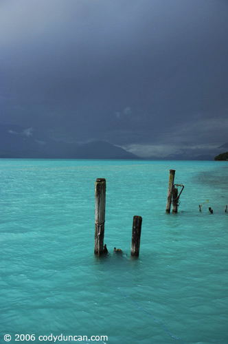 New Zealand travel photo: dramatic stormy light over lake Wakatipu. © Cody Duncan Photography