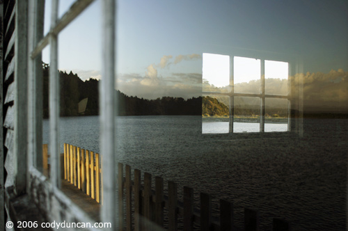 New Zealand travel: reflection in window.  © Cody Duncan Photography