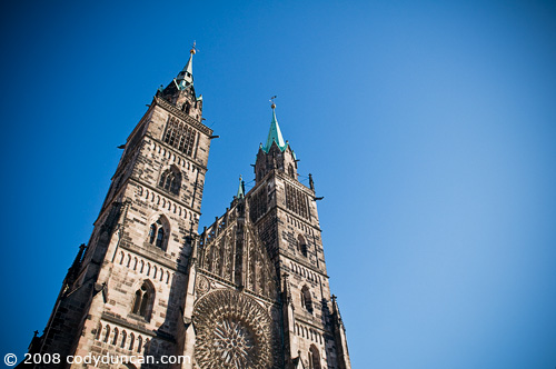 © 2008 Cody Duncan Photography. nuremberg cathedral, Germany