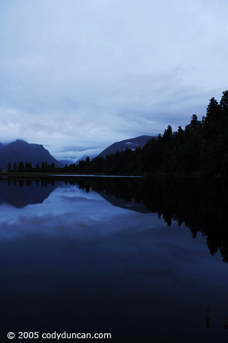 New Zealand Landscape photo: lake Matheson.  © Cody Duncan Photography
