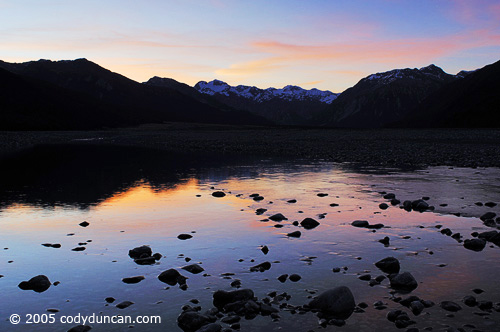 New Zealand Landscape photo: Waimakariri river valley, Arthur's pass national park.  © Cody Duncan Photography