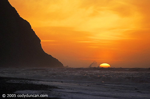 New Zealand Landscape photo: Sunset at Okarito beach.  © Cody Duncan Photography