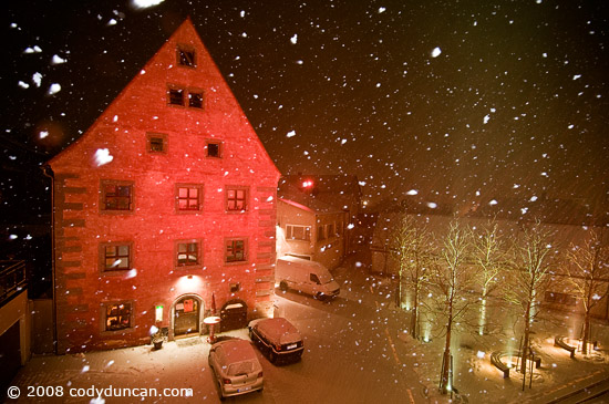Cody Duncan travel photo: March snow in Bavaria, Germany. © 2008 Cody Duncan Photography