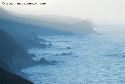 Cody Duncan Stock Photography: Cliffs and rugged coast line of California's Highway 1. © Cody Duncan photography