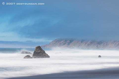 Cody Duncan Stock Photography: Rugged northern California beach along Highway 1. © Cody Duncan photography