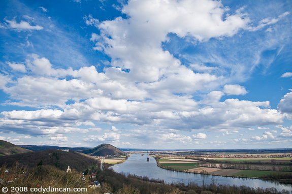 Cody Duncan travel photo: Danube river near Regensburg, Germany. © 2008 Cody Duncan photography