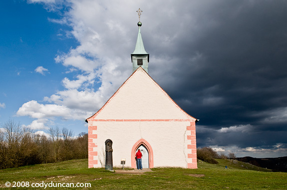 Walpurgiskapelle, Saint Walpurga's chapel, Walberla, Germany. Cody Duncan travel stock photography