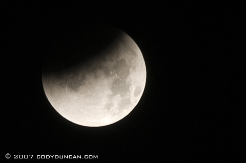 Cody Duncan Stock Photography: Lunar eclipse. © Cody Duncan photography