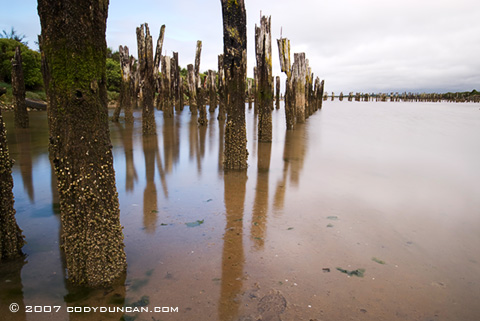 Cody Duncan Stock Photography: Old pier on Oregon coast. © Cody Duncan photography