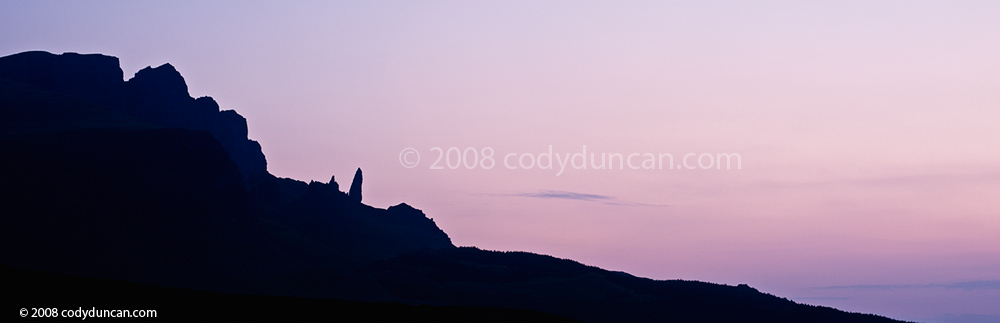 stock photo: Old Man of Storr at dawn, Isle of Skye, Scotland. Cody Duncan photography