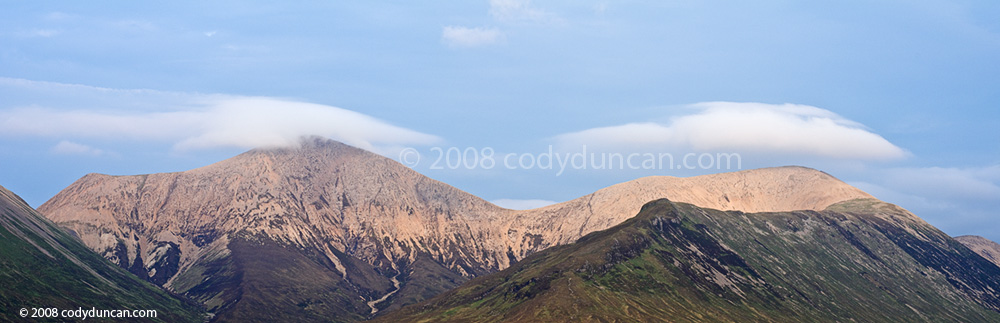 stock photo: red cuillin hills, Isle of Skye, Scotland. Cody Duncan photography