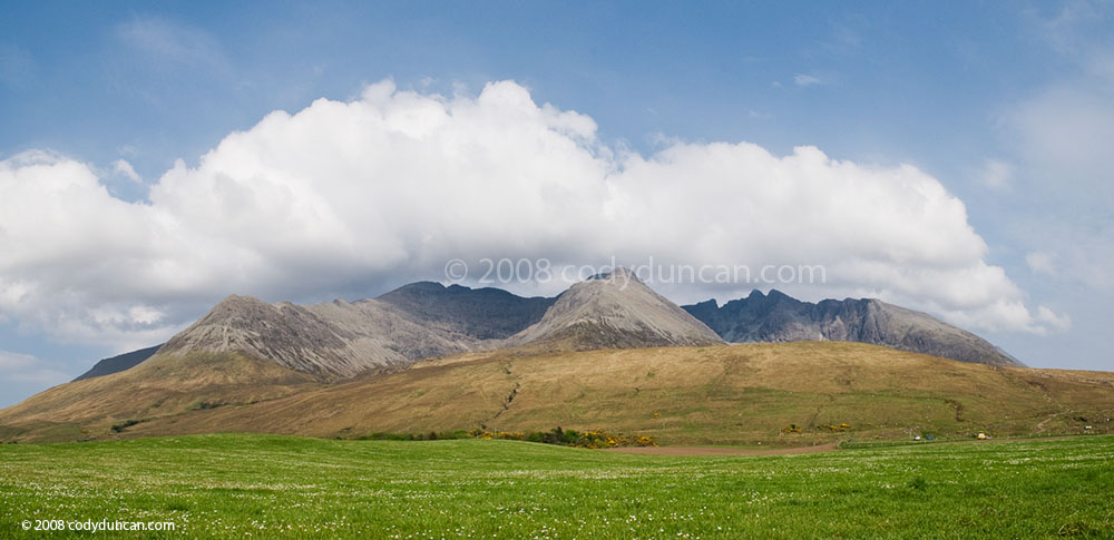 stock photo: Black Cuillins from Glenbrittle, Isle of Skye, Scotland. Cody Duncan photography