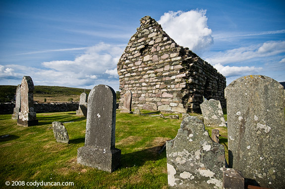 Burial slap at kilmory knap chapel. Cody Duncan photography