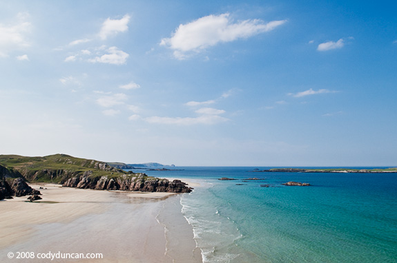 Stock photo: Scotland, Traigh Allt Chailgeag beach. © Cody Duncan photography