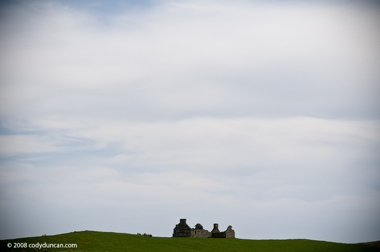 Scotland stock photo: Abandoned croft house in northeast Caithness, Scotland. Cody Duncan photography