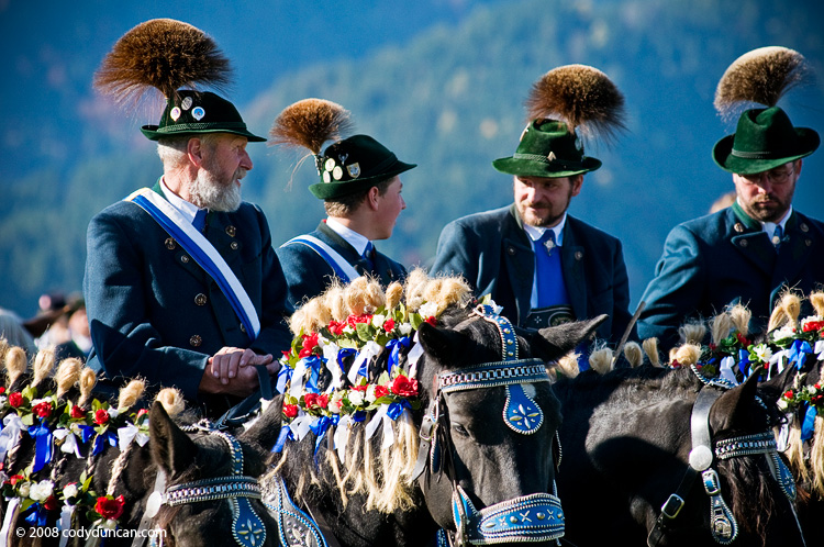 Germany Travel photography: October 12, 2008 Saint Coloman Festival, Schwangau, Bavaria, Germany