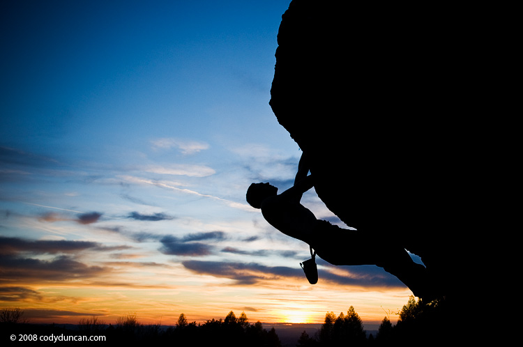 Frankenjura Rock Climbing photo: Bouldering at Zogenreuth, Oberpfalz, Bavaria, Germany. Cody Duncan Photo