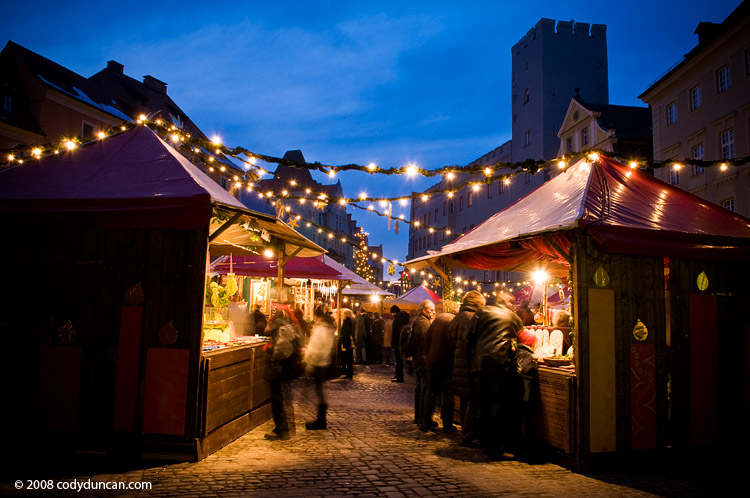 regensburg weihnachtsmarkt christmas market photo 2008 - Cody Duncan photography