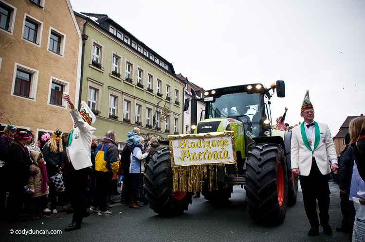 2009 German Carnival parade photo, Auerbach, Oberpfalz, Bavaria, Germany. Cody Duncan Photography