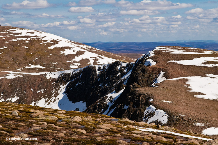 Scotland stock landscape photo: cairngorm mountains in spring. Cody Duncan photography
