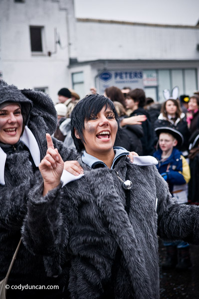 2009 German Carnival parade photo, Ratheim, Germany.  Cody Duncan Photography