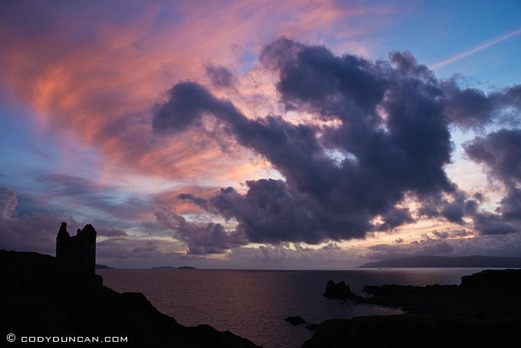 Gylen castle, Kerrera island, Scotland