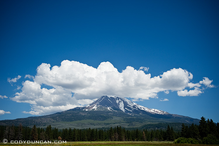 Landscape stock photography - Mount Shasta, California