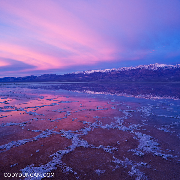 Badwater basin, Death Valley national park, Californai