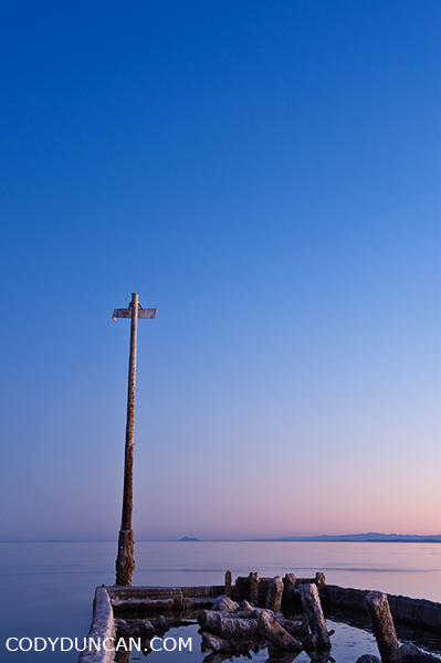 Bombay Beach, Salton Sea, California stock travel photos