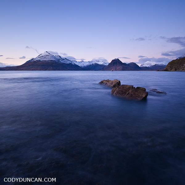 Landscape stock photography - Elgol and Black Cuillin, Isle of Skye, Scotland