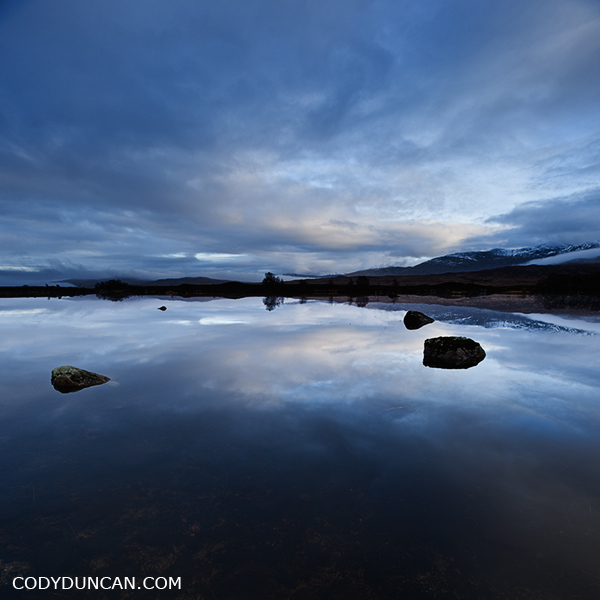 Scottish landscape photography - Loch Ba, Rannoch Moor