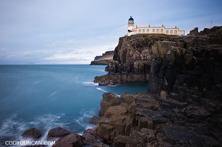 Neist point lighthose and sea, Isle of Skye, Scotland