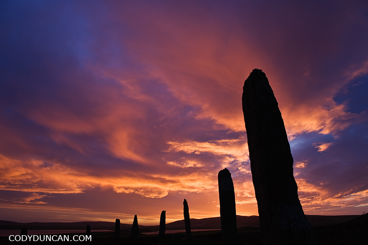 Ring of Brodgar, Orkney, Scotland, stock image
