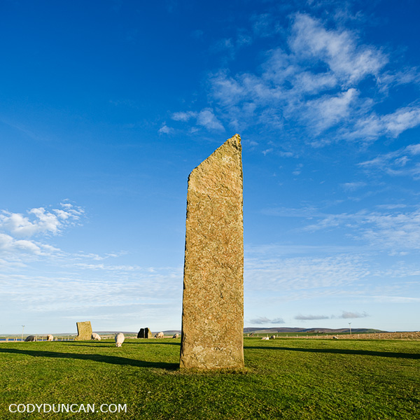 Stenness standing stones, Orkney Neolithic site photo