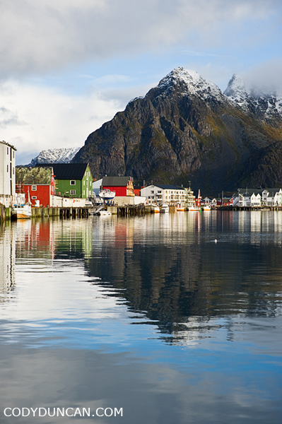 Travel photography, Henningsvaer, Lofoten Islands, Norway