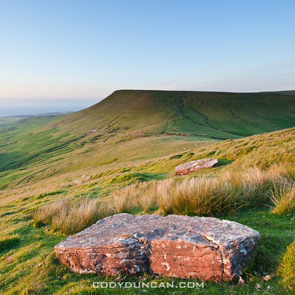Hay Bluff landscape photo, Brecon Beacons, Wales
