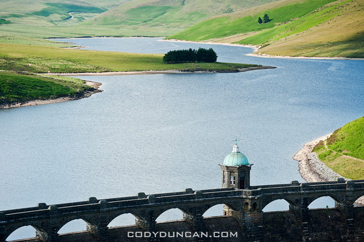 Welsh stock photography: Craig Goch reservoir, Elan Valley, Wales