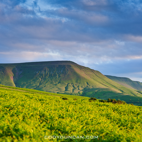 Welsh landscape photography - Twmpa, Black mountains, Wales