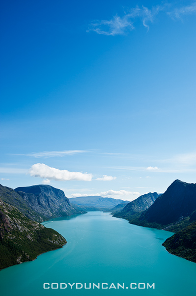 Lake Gjende Jotunheimen national park, Norway