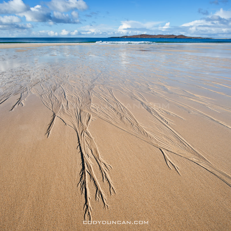 Scenic Traigh Lar Beach, Isle of Harris