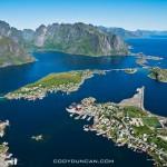 Reinebringen Lofoten islands norway