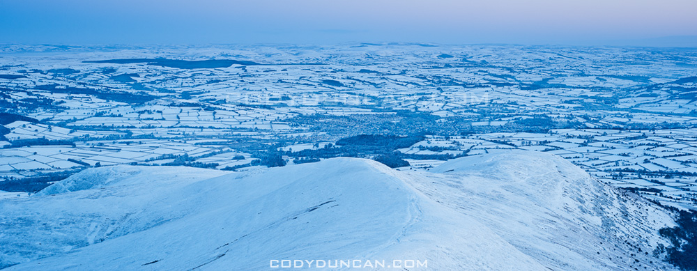 Brecon Beacons Wales snow november 2010