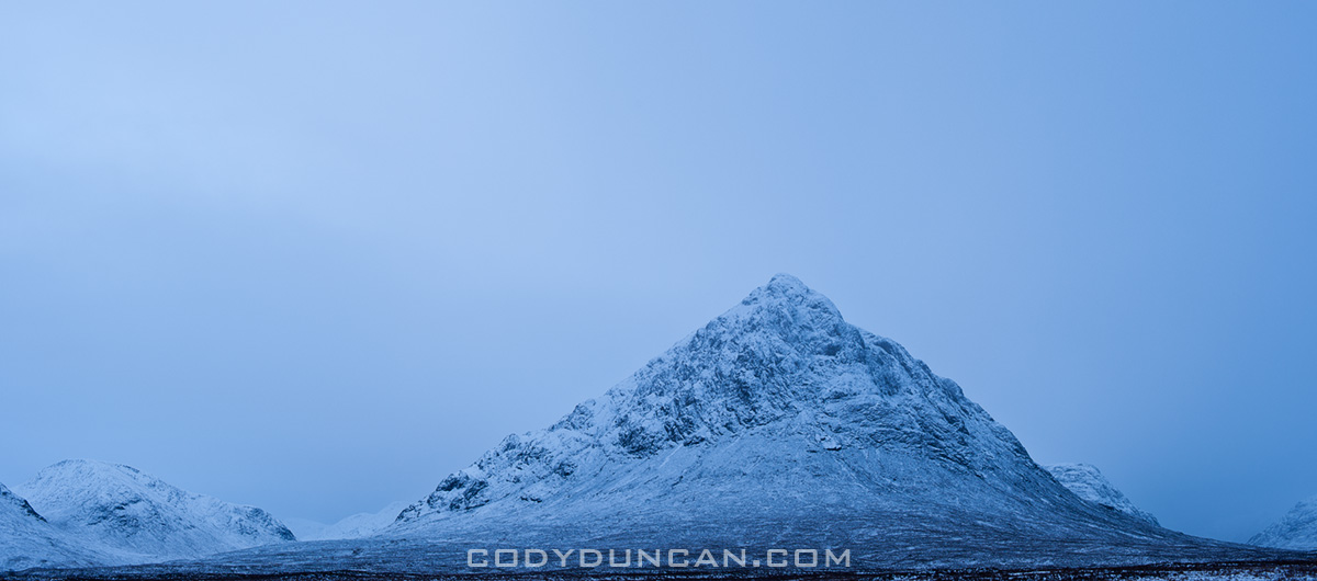 Buachaille Etive Mor in winter, Glencoe - Rannoch Moor, Scotland