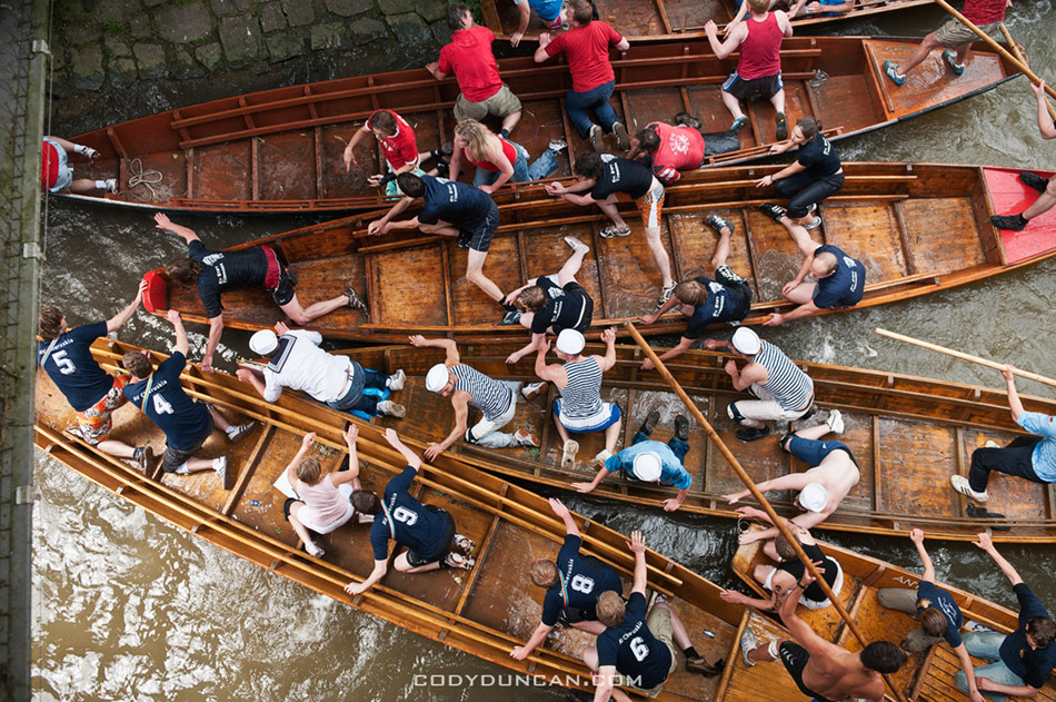 Tuebingen stocherkahnrennen punt boat race
